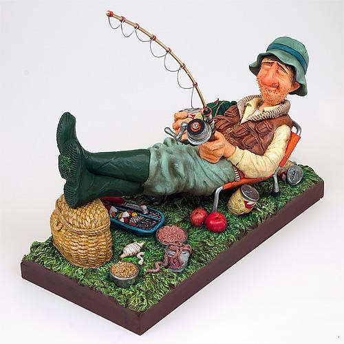 скульптура в подарок рыбаку