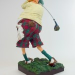 Detail afbeelding Fore! The  Golfer