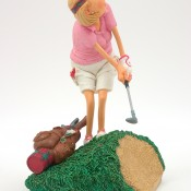 Detail afbeelding Lady Golf