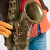 Detail afbeelding The Saxophone Player