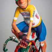 Detail afbeelding The Cyclist